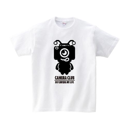 カメラエイリアン Tシャツ M ホワイト