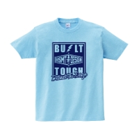BUILT TOUGH Tシャツ M ライトブルー