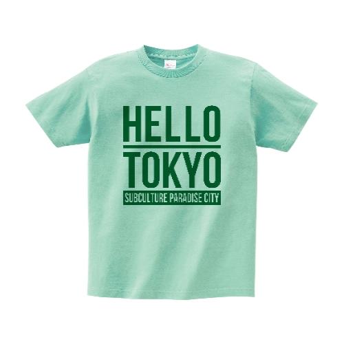HELLO TOKYO Tシャツ M アイスグリーン DMM限定カラー