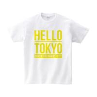 HELLO TOKYO Tシャツ M ホワイト DMM限定カラー