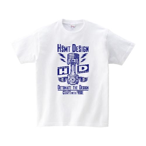 HSMT design PISTON EYE Tシャツ M ホワイト