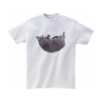どこでも猫抱っこTシャツ Mサイズ
