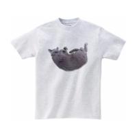 どこでも猫抱っこTシャツ Lサイズ