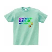 猫好きの為の妄想ロックフェスTシャツ XL アイスグリーン