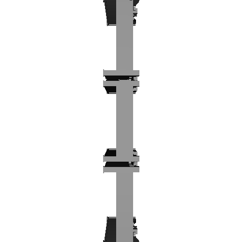 Nゲージ ZM8C無蓋コンテナ量産型  3個入り