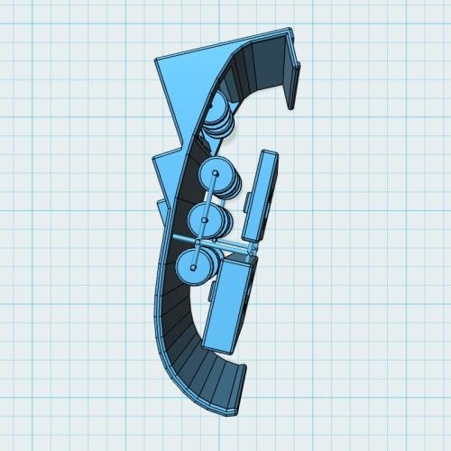 ドリンクホルダーアダプタ(シングルタイプ-3) デミオ(DJ)/CX-3(MC前)用