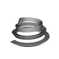 螺旋状のA.stp