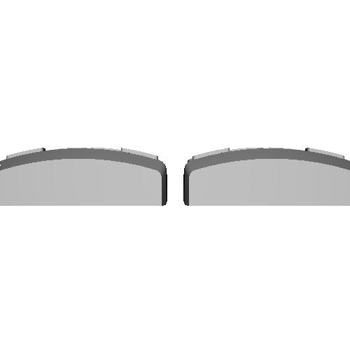 鈴蘭台の2000系 前面パーツ 2両分