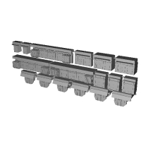 京急1000形SUS車用三菱SiC主回路セット