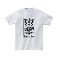 HSMT deign PLUG Tシャツ S アッシュ