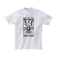 HSMT deign PLUG Tシャツ XL アッシュ