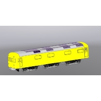 921形2号車 軌道試験車