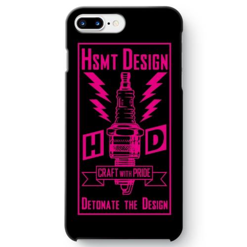 HSMT deign PLUG iPhone 7 Plus BLACK/PINK