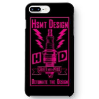 HSMT deign PLUG iPhone 7 Plus BLACK/PINK