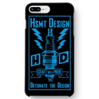 HSMT deign PLUG iPhone 7 Plus BLACK/LIGHT BLUE