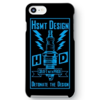 HSMT deign PLUG iPhone 7 BLACK/LIGHT BLUE