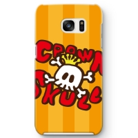CROWN SKULL Galaxy S7 edge ケース