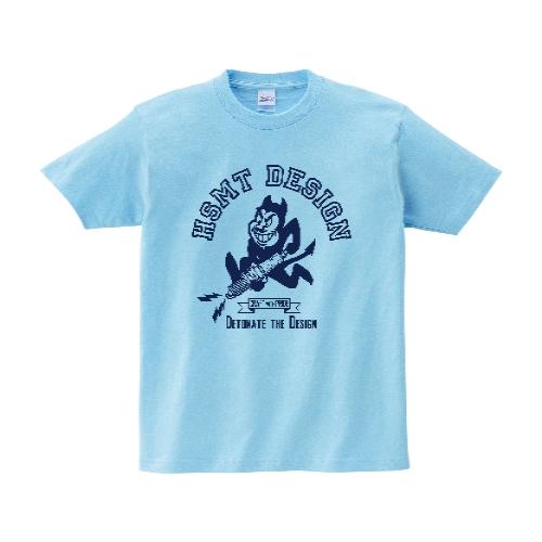 HSMT design Devil Tシャツ S ライトブルー