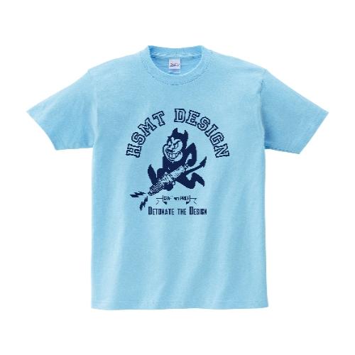 HSMT design Devil Tシャツ XL ライトブルー