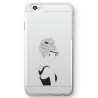 【iPhone 6s】オードリー・ヘプバーンクリアスマホケース
