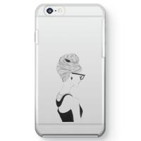 【iPhone 6】オードリー・ヘプバーンクリアスマホケース