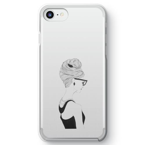 【iPhone 7】オードリー・ヘプバーンクリアスマホケース