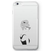 【iPhone 6s plus】オードリー・ヘプバーンクリアスマホケース