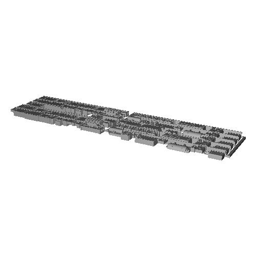 7000系床下機器 7003F(6連)【武蔵模型工房 Nゲージ 鉄道模型】