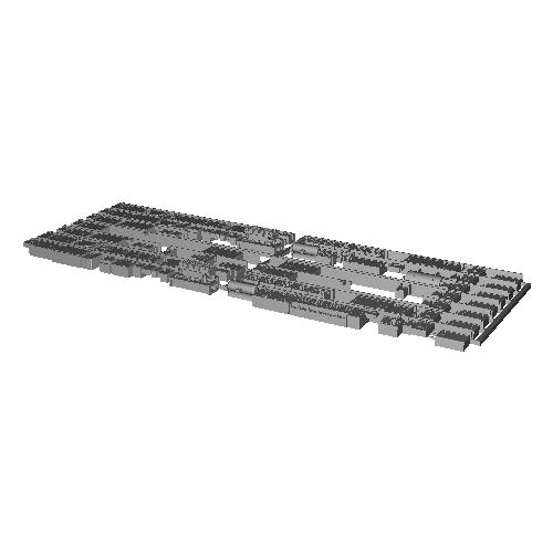 7000系床下機器 7008F(8連)【武蔵模型工房 Nゲージ 鉄道模型】