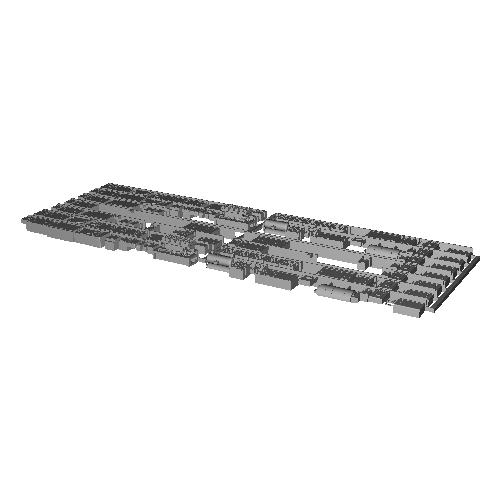 7000系床下機器 7009F・7010F(8連)【武蔵模型工房 Nゲージ 鉄道模型】