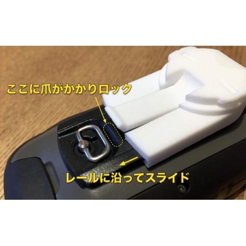 GARMIN eTrex (10/20/30) Edgeマウント用アダプター