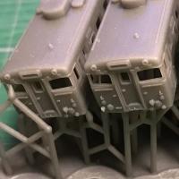 【光造形】Zゲージ キハ58系 キハ58 キハ28 平窓冷房タイプ 上回りセット