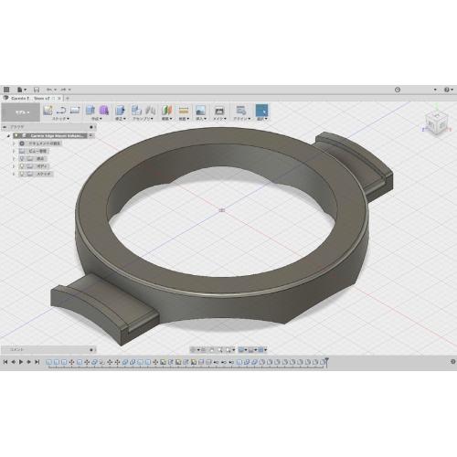 GARMIN Edge付属のハンドルステムマウントをタイラップ固定式にするアタッチメント