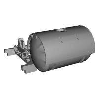 1/150 鉄道模型用 12ft系タンクコンテナキット 1ケ入り