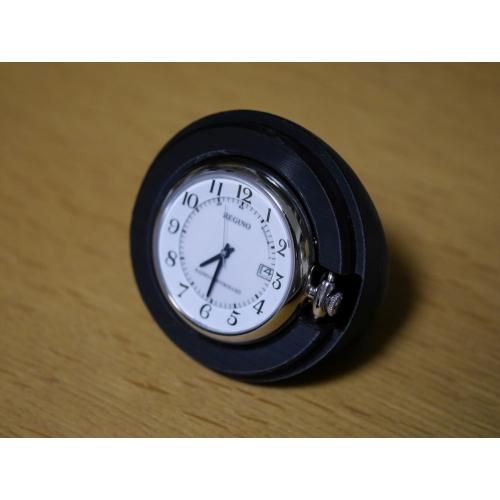 シチズン製ソーラーテック電波懐中時計REGUNO用「卓上ミニ置時計型ケース」タイプBのベース部