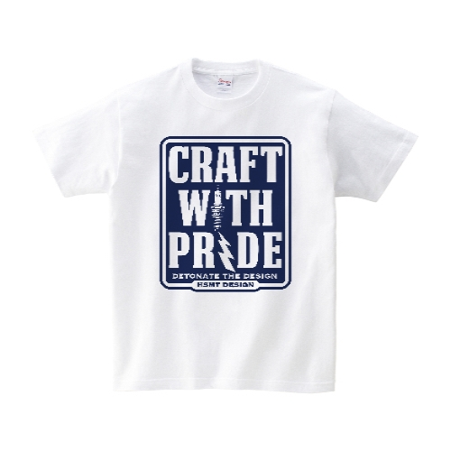 CRAFT WITH PRIDE Tシャツ S ホワイト