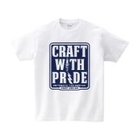 CRAFT WITH PRIDE Tシャツ M ホワイト