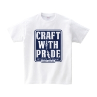 CRAFT WITH PRIDE Tシャツ L ホワイト