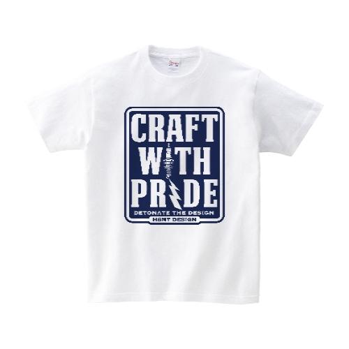 CRAFT WITH PRIDE Tシャツ XL ホワイト