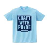 CRAFT WITH PRIDE Tシャツ S ライトブルー