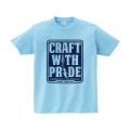 CRAFT WITH PRIDE Tシャツ M ライトブルー