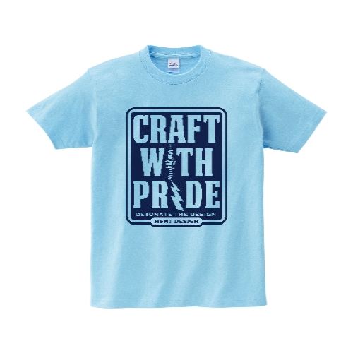 CRAFT WITH PRIDE Tシャツ XL ライトブルー