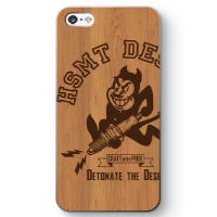 DEVIL iPhone 5/5s ケース WOOD/BROWN