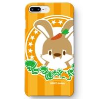 うさぎさん iPhone 8 Plus ケース ORANGE