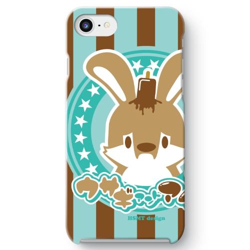うさぎさん iPhone 8 ケース チョコミント