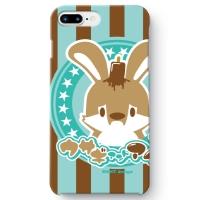 うさぎさん iPhone 8 Plus ケース チョコミント