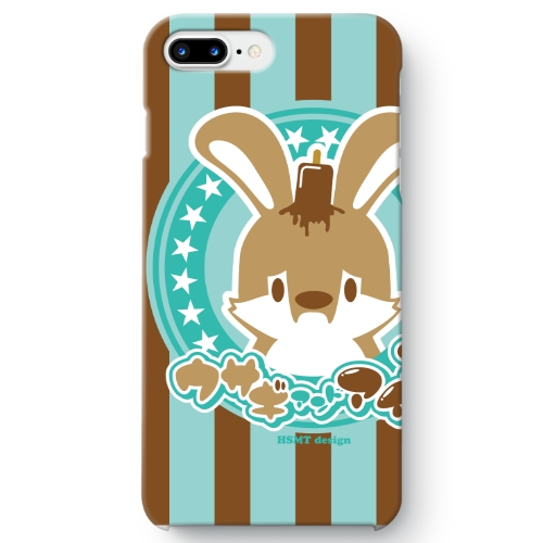 うさぎさん iPhone 7 Plus ケース チョコミント