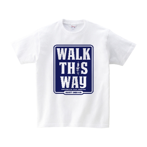 WALK THIS WAY Tシャツ S ホワイト