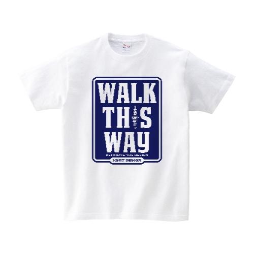 WALK THIS WAY Tシャツ M ホワイト