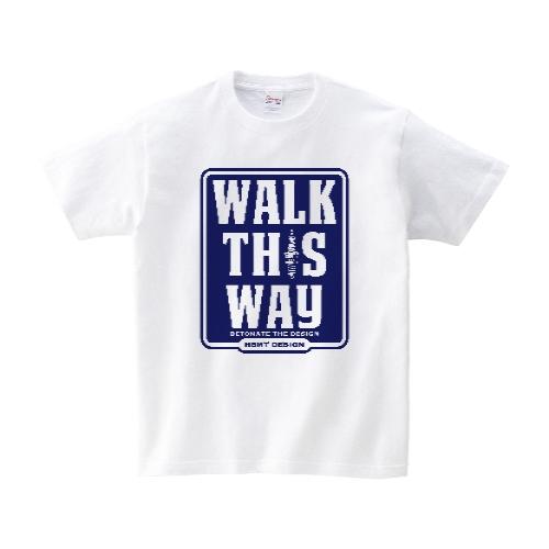 WALK THIS WAY Tシャツ XL ホワイト